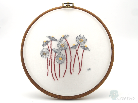 Hand Embroidery - Seed Heads #001- Takeaway Taster by TammiR