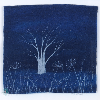 Moonlit - Annie Brown (framed)