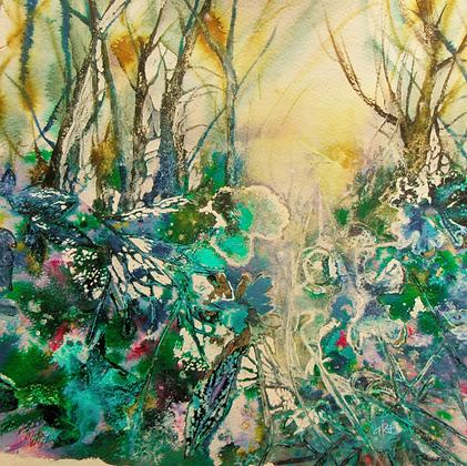 Grotto - Mita Higton (framed)