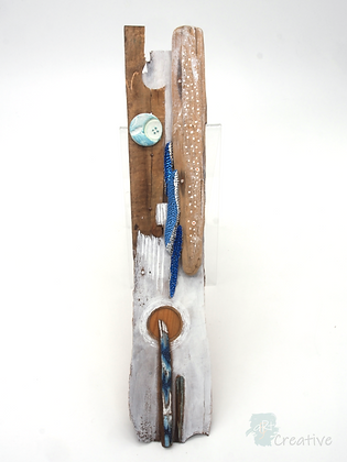 Wooden Assemblage - Tracy Hetherington