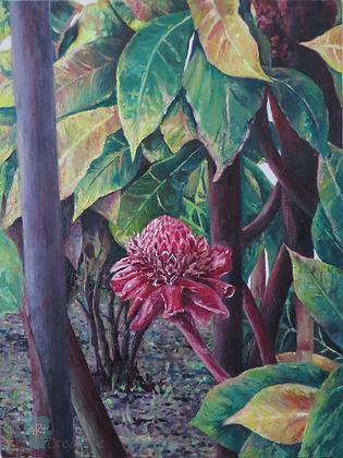 Hidden (Java) - Julie Williams (canvas)