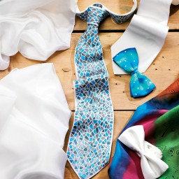 Fabric: Silk Tie Blank
