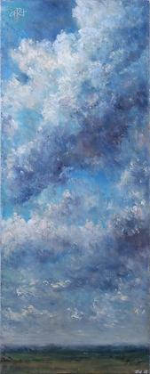 Sky Study II - Julie Williams (canvas)