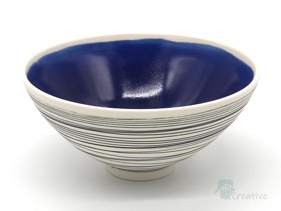 'Drift' Bowl (Blue) - Sue Bowerman