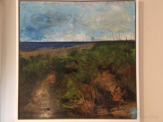 Dunes of Winterton - Maggie Davis (framed)