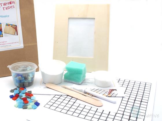 Mini Mosaics - Picture Frame (Rectangular) - Takeaway Taster