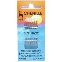 Hand Sewing Needles: Chenille (Gold Eye)- Pony