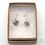 Thumbnail: Earrings: Swirled Fine Flower Enamelled   - Toni Peers