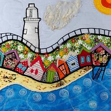 Beach Huts - Tammi R  (framed)