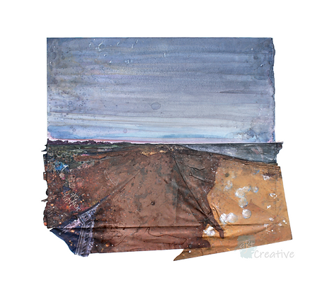 Salthouse Cley Dusk - Alfie Carpenter (framed)