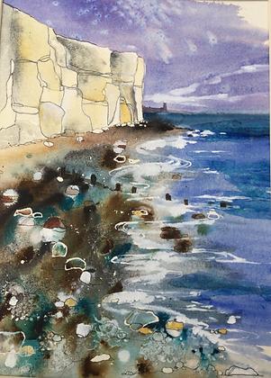 White Cliffs - Caroline Furlong (framed)