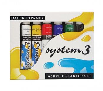 Acrylic Paint Set (Daler Rowney: System 3)