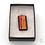 Thumbnail: Dichroic Glass Pendant Red & Gold  - Louise Ferrier