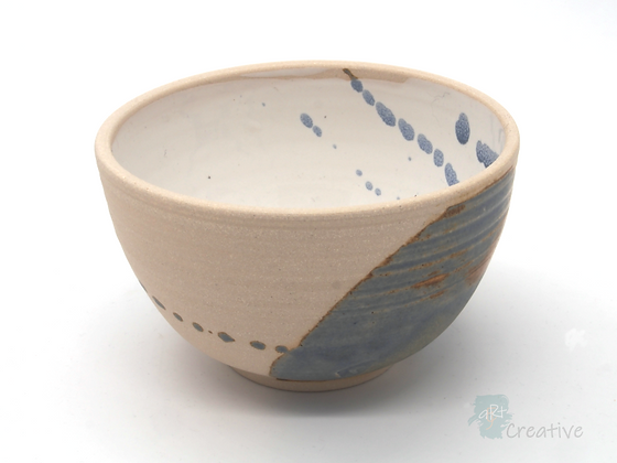 Small Deep Bowl 'Sea Beach' - Sue Bowerman