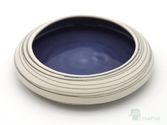 Low Plate Curved End 'Drift' - Sue Bowerman