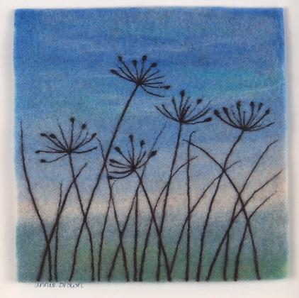 Grasses - Annie Brown (framed)