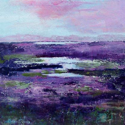From the Island, Orfordness - Dee Evans (framed)