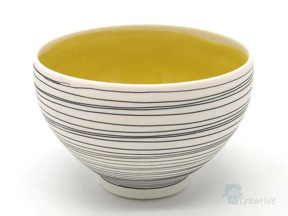'Drift' Bowl (Yellow) - Sue Bowerman