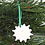 Thumbnail: Christmas Decorations Translucent -' Textured Snowflake'