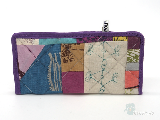 Glasses Pouch (Patchwork - Purples) - Danielle Wade