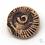 Thumbnail: Brooch: Ammonite Ceramic