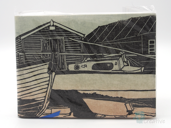 A5 Book 'Southwold Harbour with Sheds'  - Janet Watson