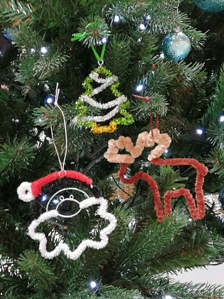 Christmas Wire -Takeaway Taster - Wire Decorations - by Patricia Sanders
