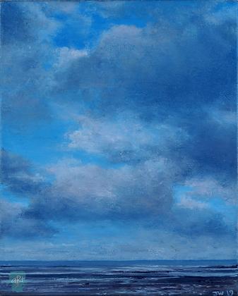Suffolk Sky II - Julie Williams (canvas)