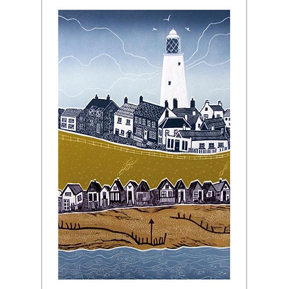 Rectangular Art Card:  Lighthouse by Diana Ashdown