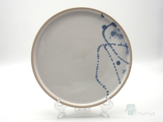 Medium Plate 'Sea Beach ' - Sue Bowerman