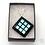 Thumbnail: Dichroic Glass Pendant  Turquoise & Purple - Louise Ferrier
