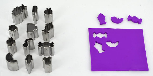Cutters: Mini Shape Metal Cutters - Set 5 - Sweet Treats