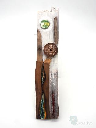 Wooden Assemblage - Tracy Hetherington