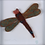 Thumbnail: Textile Dragonfly Assemblage (framed) - Tracy Hetherington