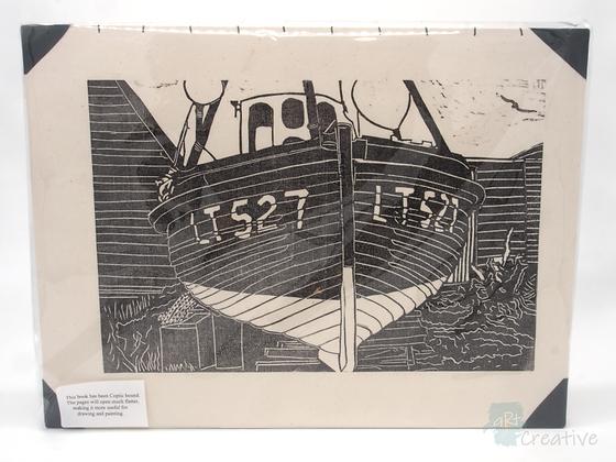 A3 Book 'Boat LT527' - Janet Watson