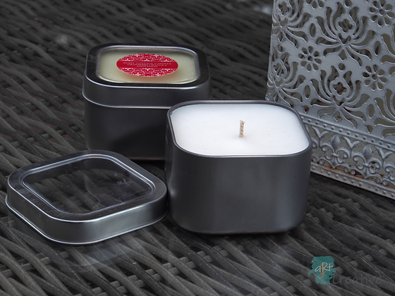 Scented Candle Tin