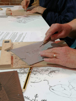 Printmaking - Lino
