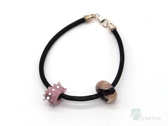 Bracelet: Flame Work 'Pandora Style' Bracelet - Toni Peers