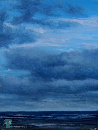 Cloudy Day, Suffolk - Julie Williams (canvas)