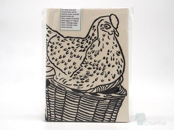 A5 Book 'Hen' - Janet Watson