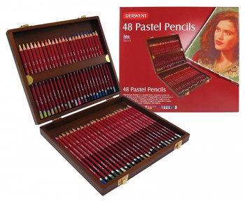 Pastel Pencil Set in Wood Box (Derwent)