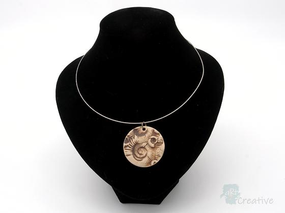 Choker: Ammonite Ceramic