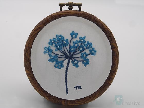 Hand Embroidery - Seedhead (Mini)#004  - Takeaway Taster by TammiR