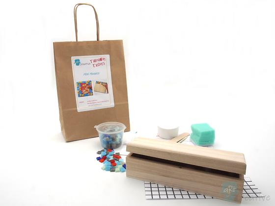 Mini Mosaics - Pencil Box - Takeaway Taster
