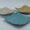 Large Tile Dish- Turquoise Wavy Groove, Beige Concave Groove and Sand Undulating Groove