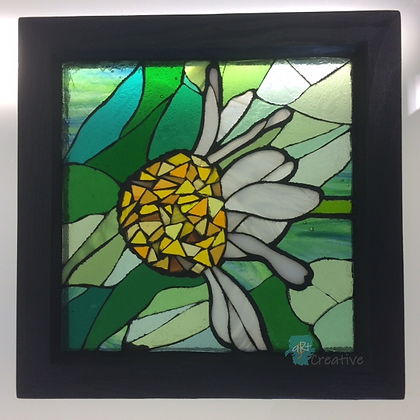 Camomile Glass Mosaic - Louise Ferrier