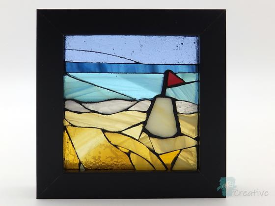 Sandcastle Glass Mosaic- Louise Ferrier