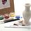Thumbnail: Ceramic Painting - Vase (Curved) - Takeaway Taster