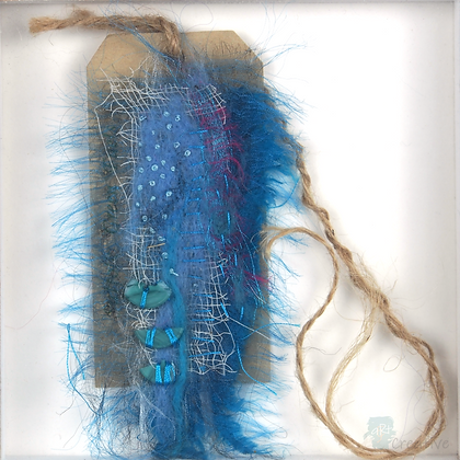 Textile Assemblage (framed) - Tracy Hetherington
