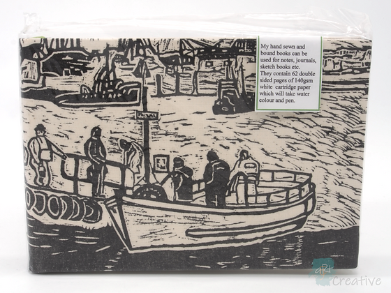 A5 Book 'Men in a Boat' - Janet Watson